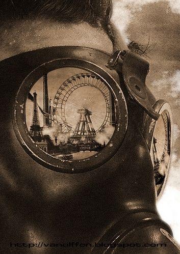 gas mask Steampunk