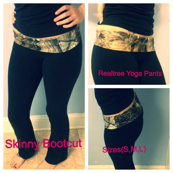 Realtree Camo Skinny Bootcut Yoga Pants on Etsy, $35.00 Support and Roll Coal For Diesel Dave. Buy Awesome Diesel Truck Apparel! Click the link below! Stay Tuned For Truck Giveaways. http://www.dieselpowergear.com/#_a_Cowroy
