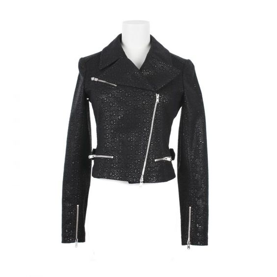 When I make my biker jacket (and I will) this is how the master makes them. Alaia SS2012. Front.