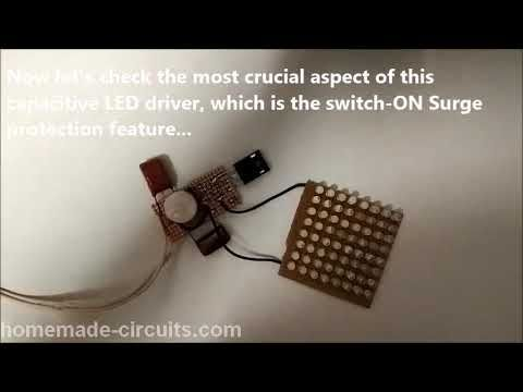This Post Explains How To Build An Easy And Cheap Transformerless Power Supply Circu Power Supply Circuit Electronic Circuit Design Electronic Circuit Projects