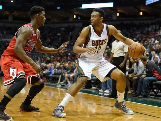 Oct 11, 2014; Milwaukee, WI, USA; Milwaukee Bucks forward