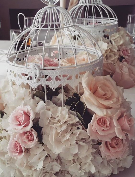 Wedding reception centerpiece idea; Featured Planner: The Social Rose