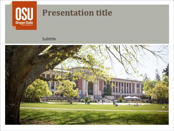ppt presentation template 2 | brand identity guidelines | oregon, Modern powerpoint