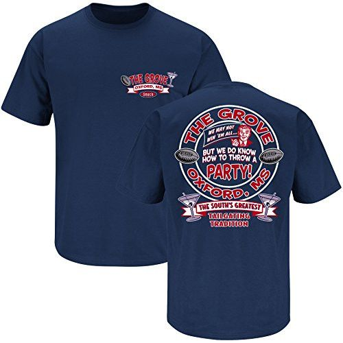 Ole Miss Rebels Fans The Grove Navy T Shirt Ole Miss Ole Miss Rebels Shirts