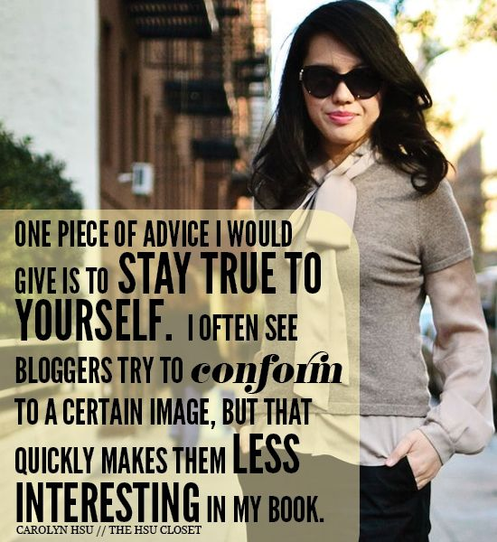 Advice for new bloggers!