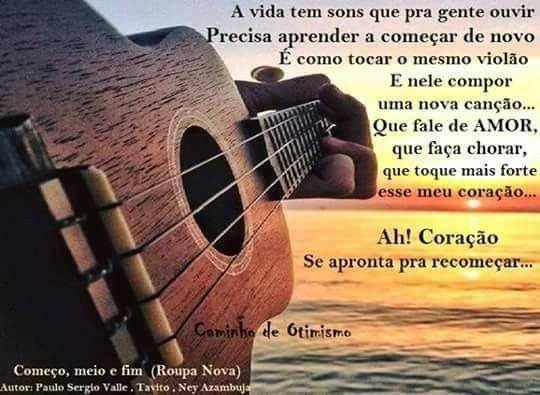 Pin De Rosangela Em Musicas Falar De Amor Cancao Otimismo