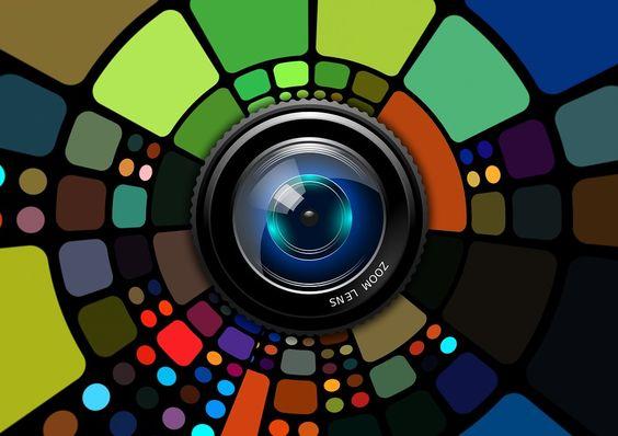 Linse, Objektiv, Fotografie, Bunt, Desktop, Hintergrund