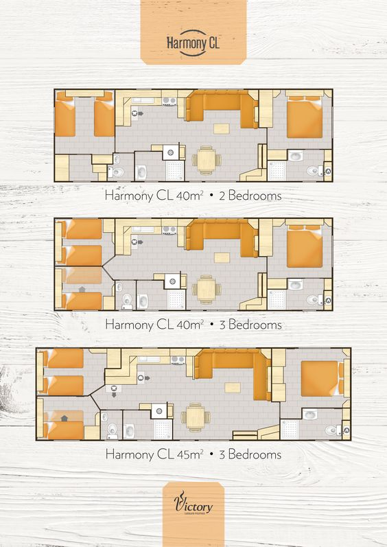 Victory Harmony CL 2017 #LeisureHome layouts