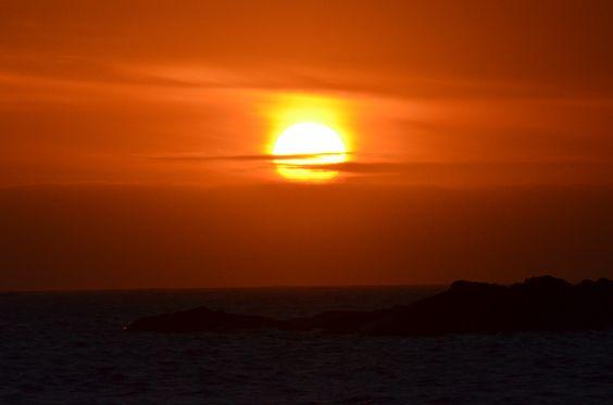 Fingal Bay NSW   Sunset Jan 2012 landscape photography