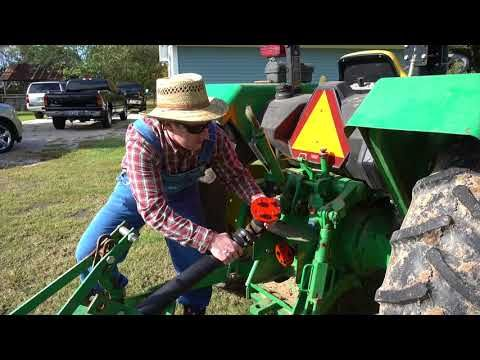 Tractor pto quick connect