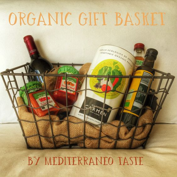 Organic gift basket by Mediterraneo Taste