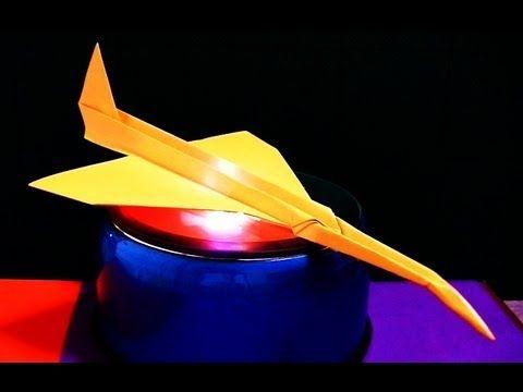 折り紙で作るコンコルド よく飛ぶらしい