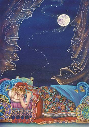 Trust in dreams for in them is hidden the gate to eternity. ~ Kahlil Gibran www.relationshipsreality.com Art: Cathy McClelland:
