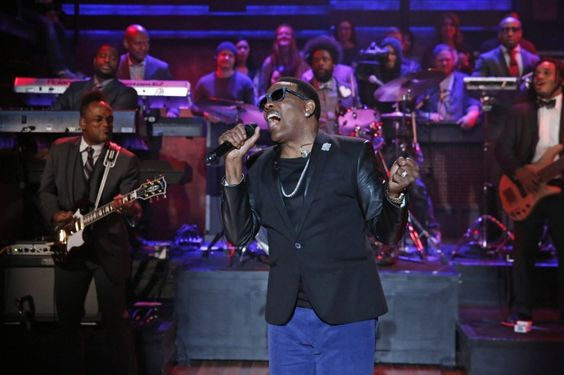 "First name Charlie, last name Wilson. Charlie Wilson makes it hard to forget his name with a soulful performance on ""Late Night With Jimmy Fallon"" on Nov. 20 in New York"