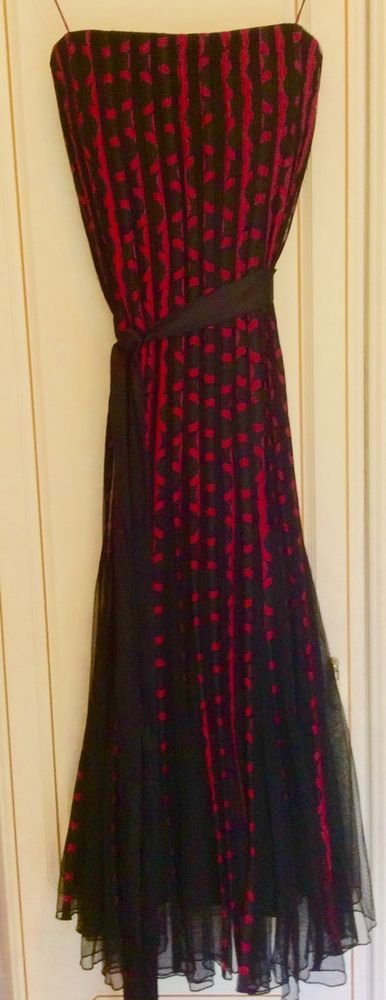 Cocktail Cruise Party Evening Dinner Christmas Dress Genuine Phase Eight Size 12 | eBay