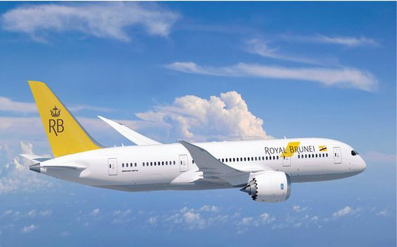 Royal Brunei Airlines - bkk bwn 2013