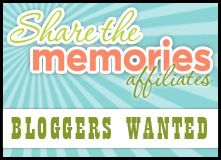 Share the Memories - Affiliate Program: Creative Blogs Link, Program Opportunities, Scrapbook Kit, Affiliate Programs