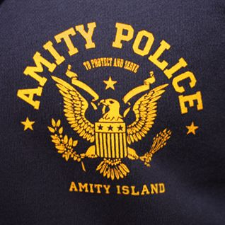 Amity Police - Zip-up Hooded Top   Last Exit to Nowhere