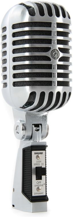 Cardioid Dynamic Vocal Microphone with Switch