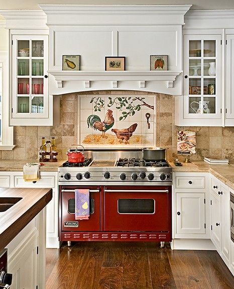 13 French Kitchen Tile Backsplash Ideas Country Kitchen Backsplash Trendy Farmhouse Kitchen French Country Kitchens