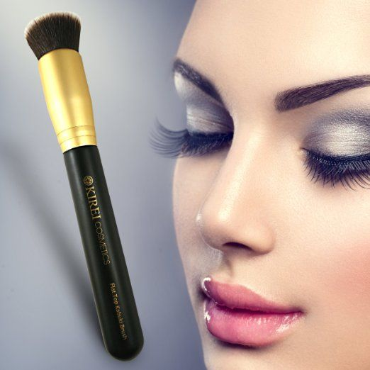 Premium Quality Foundation Brush - Super Dense Bristles Perfect for Buffing and Blending.