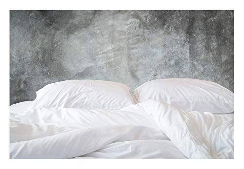 Organic Cotton Bed Sheets Set 500tc Queen Size Ultra White 4 Piece Bedding 100 Gots Organic Cotton Bed Sheets Organic Cotton Duvet Cover Cotton Duvet Cover