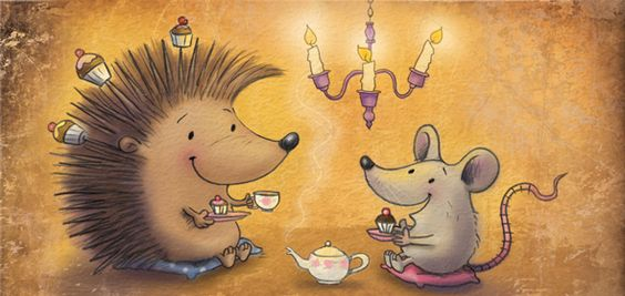 Louise Gardner - professional children's illustrator, view portfolio