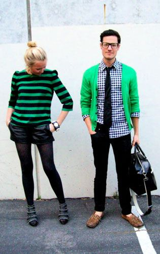Look of the Day: His and Hers