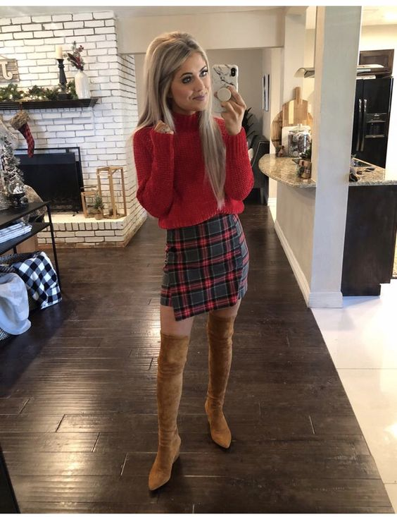 30 Chic Outfits To Wear On Thanksgiving Day