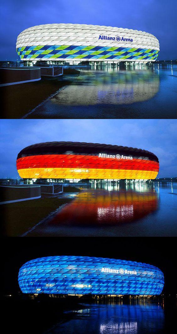Allianz Arena, Monaco di Baviera -  Herzog & de Meuron