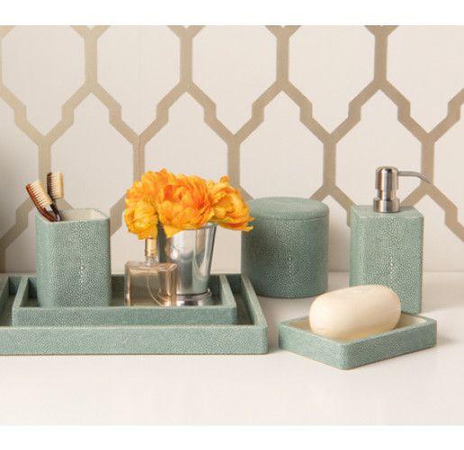 Tenby Sage Bathroom Accessories Green Bathroom Accessories Mint Green Decor Bathroom Accessories Sets