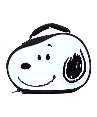Look what I found on #zulily! Peanuts Snoopy Lunch Bag by Peanuts by Charles Schulz #zulilyfinds