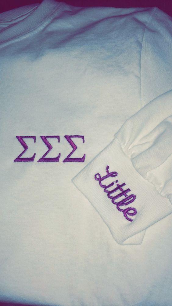 Big/little reveal shirts