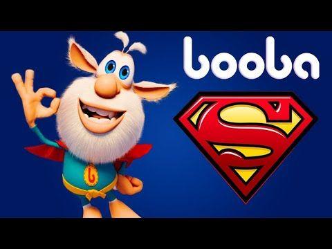 Booba Superhero Cartoons Compilation Moolt Kids Toons Youtube Superhero Cartoon Funny Cartoons Animated Cartoons