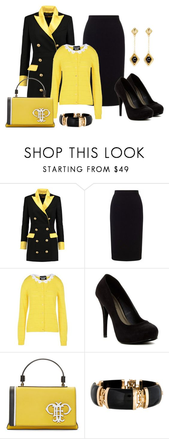 """Three Piece Outfit"" by sjlew ❤ liked on Polyvore featuring Balmain, Roland…"