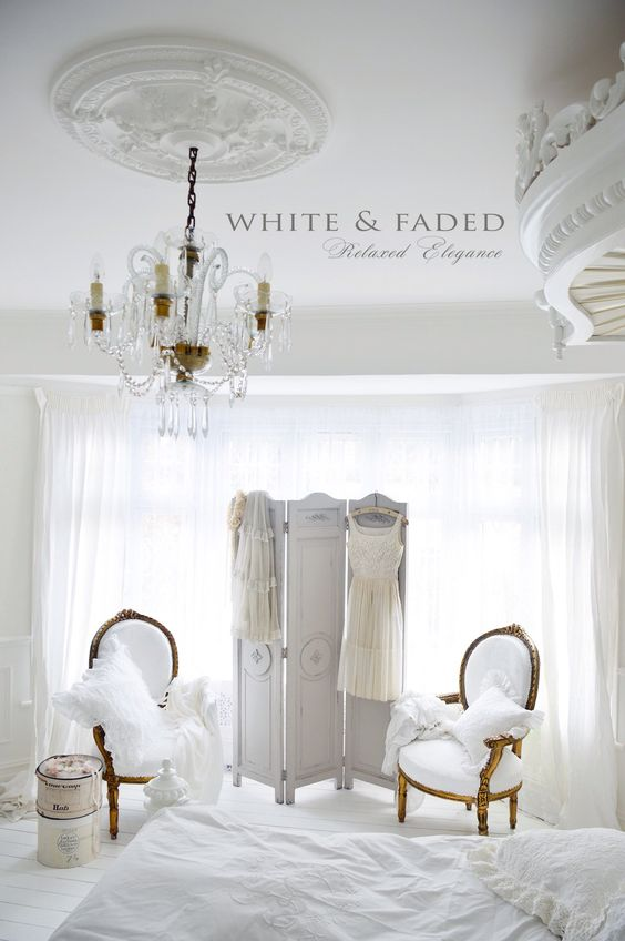 White French Bedroom Shabby Chic Romantic Victorian