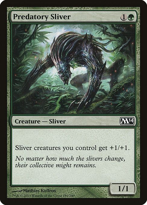 1x Manaweft Sliver Foil NM Magic 2014 EDH Modern Slivers MTG x1
