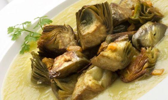 Receta De Alcachofas Salteadas Con Puré De Puerro Y Patata Karlos Arguiñano Receta Alcachofas Recetas Alcachofas Recetas Con Verduras