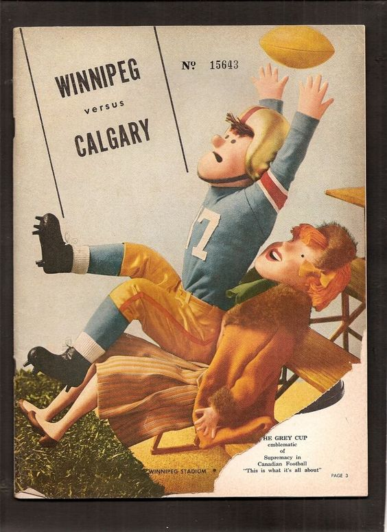 1962 Winnipeg Blue Bombers Vs Calgary Stampeders Cfl Canadian #Football Program from $9.99