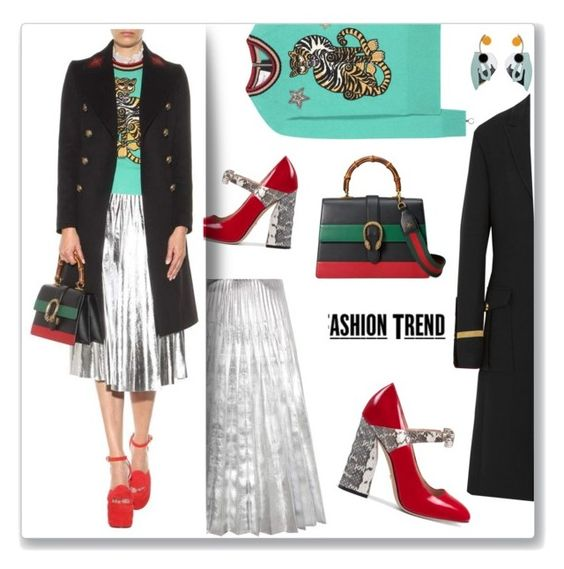 """""""Holiday outfit"""" by faten-m-h ❤ liked on Polyvore featuring Gucci, Marni and Givenchy"""