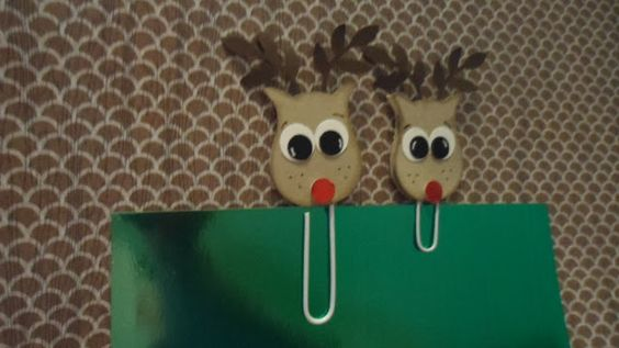 Reindeer, Bird Builder Punch, Owl Builder Punch, Basic Black, Whisper White, Crumb Cake, Early Espresso, Stamp Up, Paper Clips, DIY: