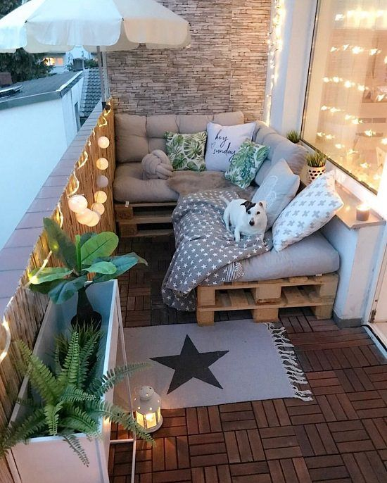 11 Most Amazing Apartment Balcony Lighting Ideas | Balcony Garden Web