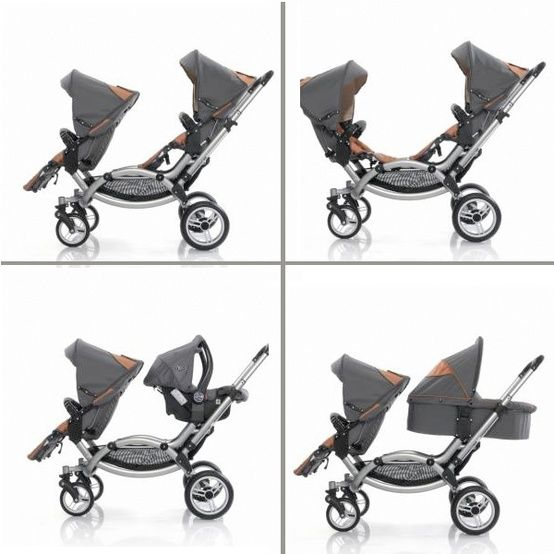 Double stroller. Wish I could've seen this when pregnant with my twins!! Looks very practical!! leebruss
