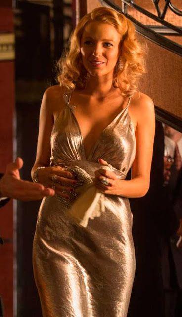Café Society vestido festa anos 30, figurino filme  Veronica (Blake Lively)
