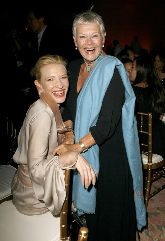 Cate Blanchett and Judi Dench