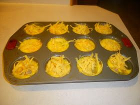 Country Blessings: Easy Egg Casserole Muffins