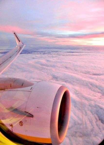 airplane window view aesthetic