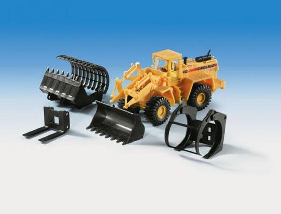 11452 KAELBLE GMEINDNER Radlader SL26 mit Anbaugerät