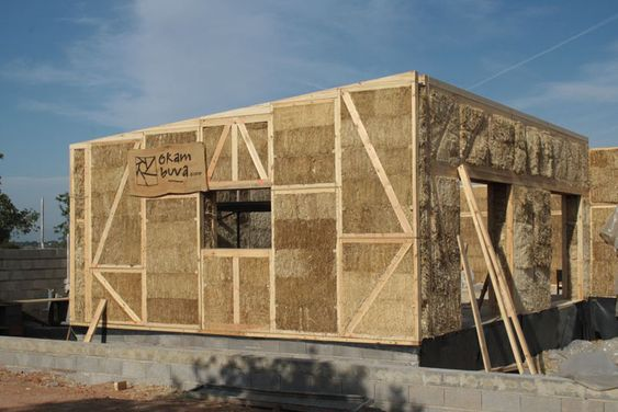 Arquitectura Sostenible: Paneles prefabricados de paja alfaWALL | Arquitectura