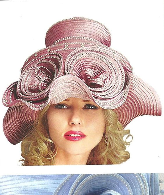 women's church suits and hats | Church Hats/ Anna Rossi ANN-282H